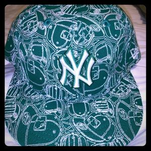 New York Yankees fitted hat